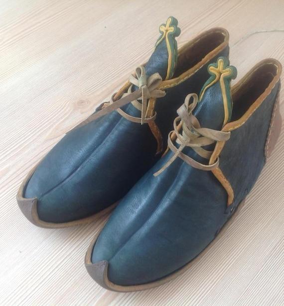Mittelalterliche Stiefel, anatolische SandalenSchuhe, Auferstehung Schuhe, türkische Jemenit, Leder handgemachte Schuhe, Erwachsene Schuhe,