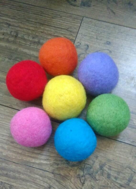 Felt Ball New Handmade Available In 60 Colours Felt Ball 4cm Magenta