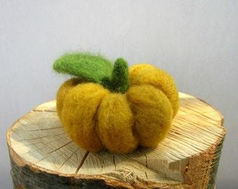 Felt Pumpkin, Halloween Pumpkin Decor, Thanksgiving Pumpkin Dinner Decor, Holiday Centerpiece Decorations, Rustic Home Decor