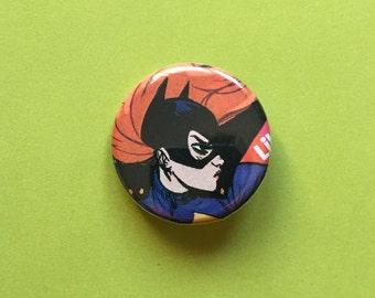 Batgirl / Barbara Gordon Pinback Button