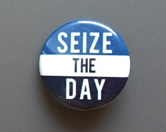 Newsies Seize the Day Pinback Button