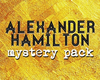 Alexander Hamilton Mystery Grab Bag Pins