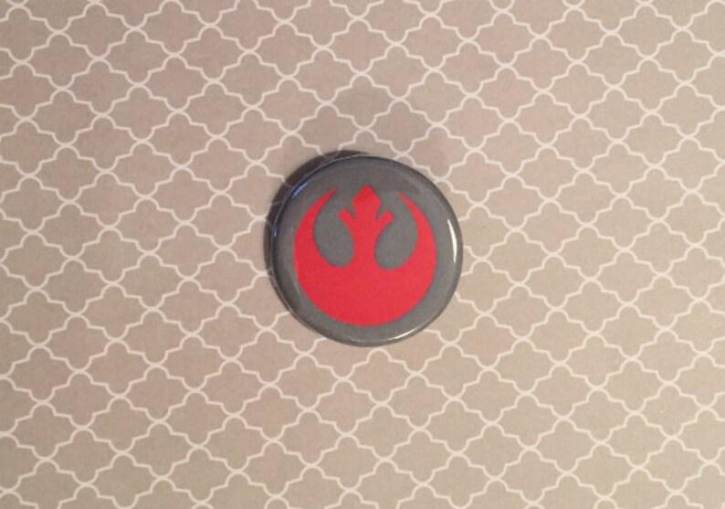 Star Wars Rebel Alliance Inspired Pinback Button