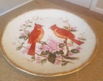 Norleans Red Bird Plate