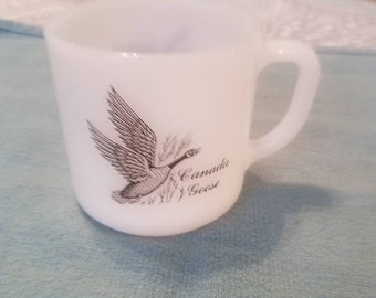 Canada Goose Canvasback Federal Glass mug