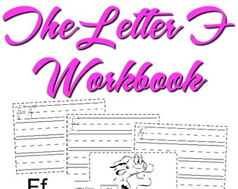 The Letter F Workbook