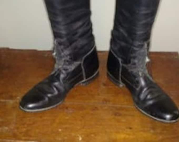 Der Dau black field boots