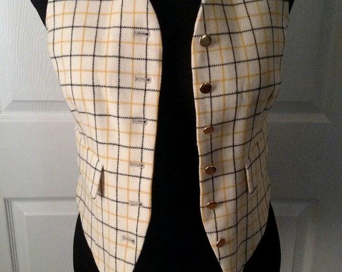 Ladies Heythrop Tattersal Foxhunting Vest