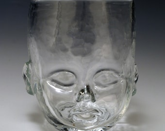 Baby Head Cup - Clear