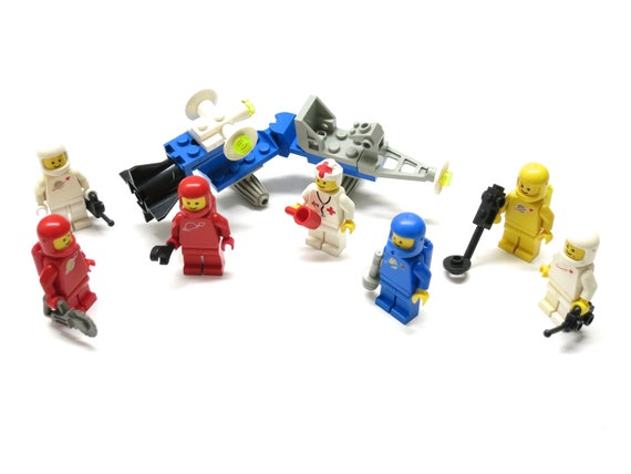 7x Lego Movie Miniature Figure minifigure Keyring key chain Toy Set