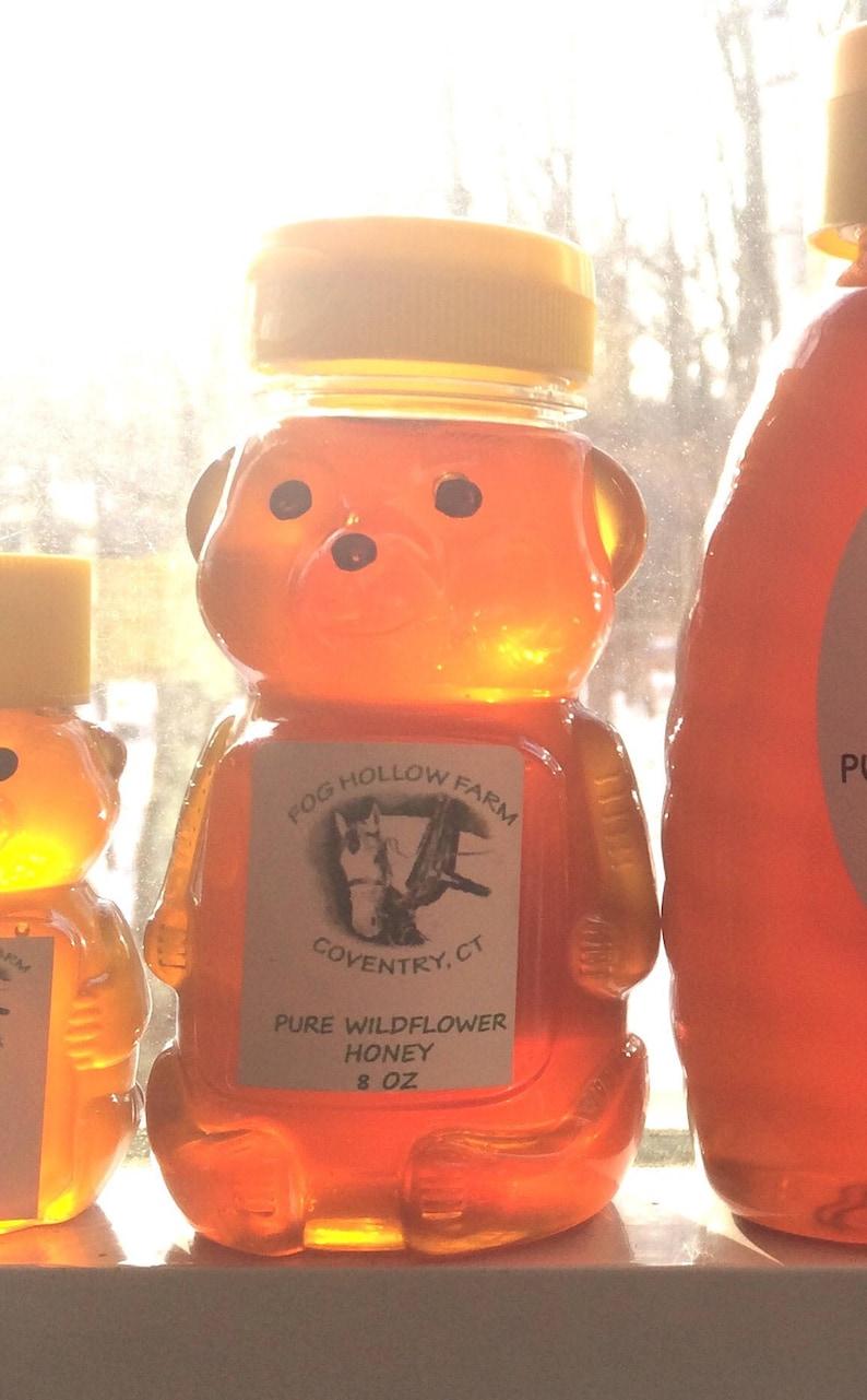 Pure Wildflower Honey Honey Raw Honey Connecticut Honey image 0