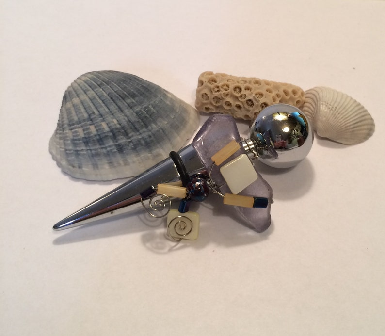 Wine Bottle Stopper Wrapped Glass Decorated Glass Wine image 0