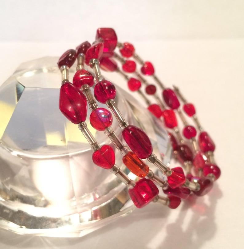Bracelet Valentine's Gift Valentine's Day Red image 0