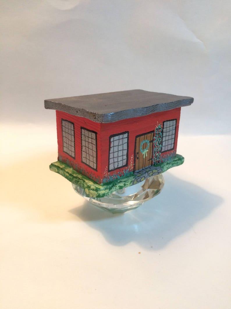 Blessing Box Inspiration Box Painted Box Wooden Box Gift image 0
