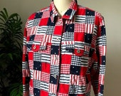 David Brooks American Patchwork Jacket (Medium)