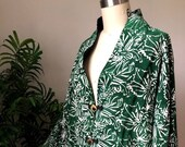 The Daily Planet Green/White Jacket (Medium)