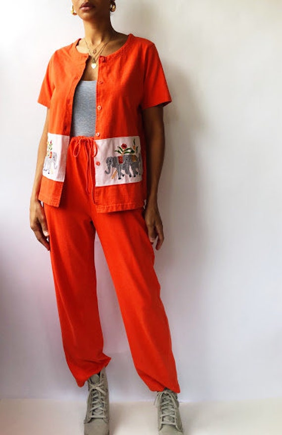 Orange Kaktus Lounge Set (L)