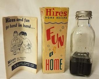 Vintage Hires Root Beer Extract