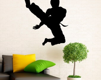 15m01a Boxing Wall Decal Vinyl Stickers Fighting Home Interior Art Design Murals Bedroom Wall Decor