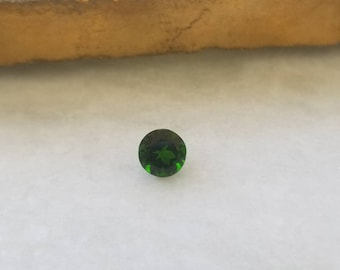 6mm Round Loose Chrome Diopside