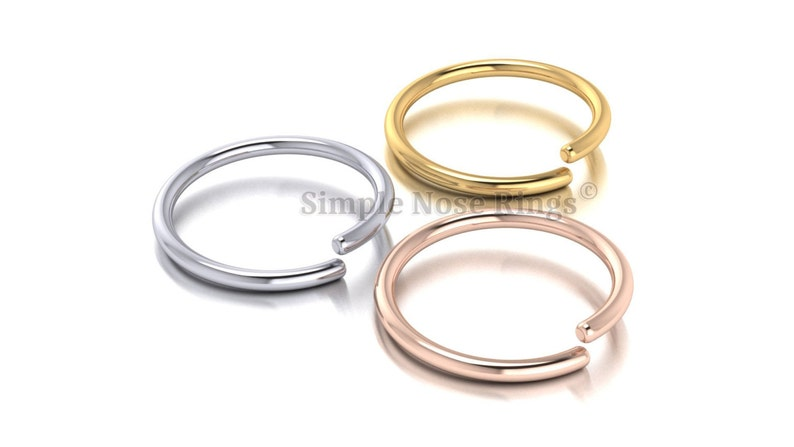 Jewelry Watches Body Piercing Jewelry 10k Solid Yellow Gold Nose