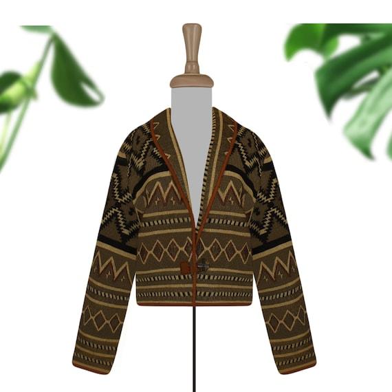 Tapestry Jacket- Bolero Jacket- Tribal Jacket- Sou