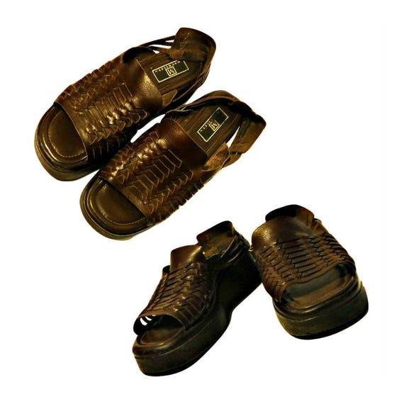 Women's shoes huaraches platforms
