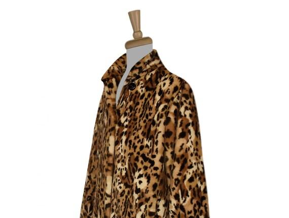 Women's Leopard Coat- Leopard Print Coat- Animal … - image 8