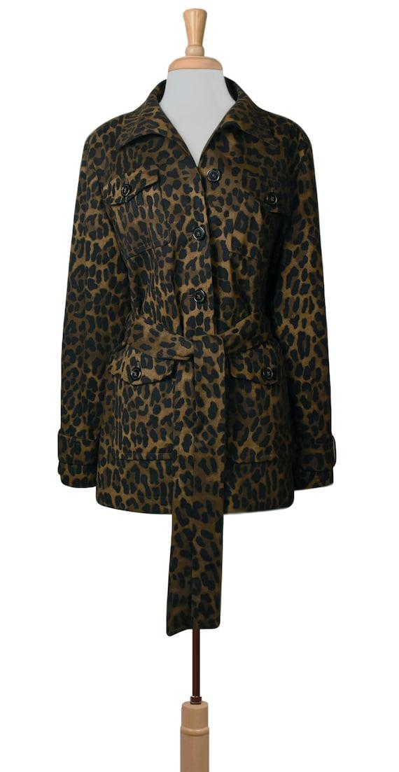 Women's Jacket- Leopard Jacket- Leopard Print Jac… - image 2