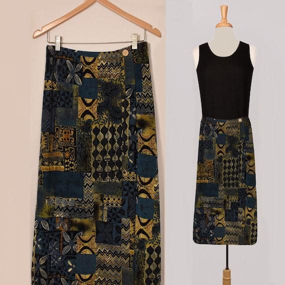 Womens Skirt- Midi Skirt- Ethnic Skirt- Festival S