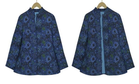 Quilted Jacket- Quilt Jacket Women- Quilt Coat- B… - image 5