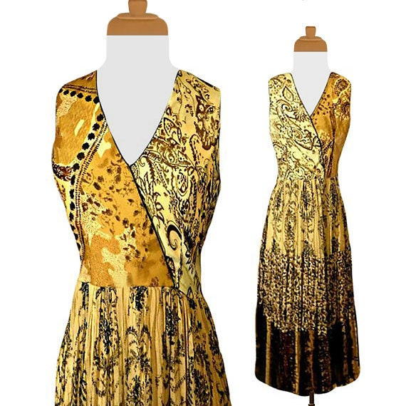 Women's Dress- Maxi Dress- Tribal Dress- Long Dres