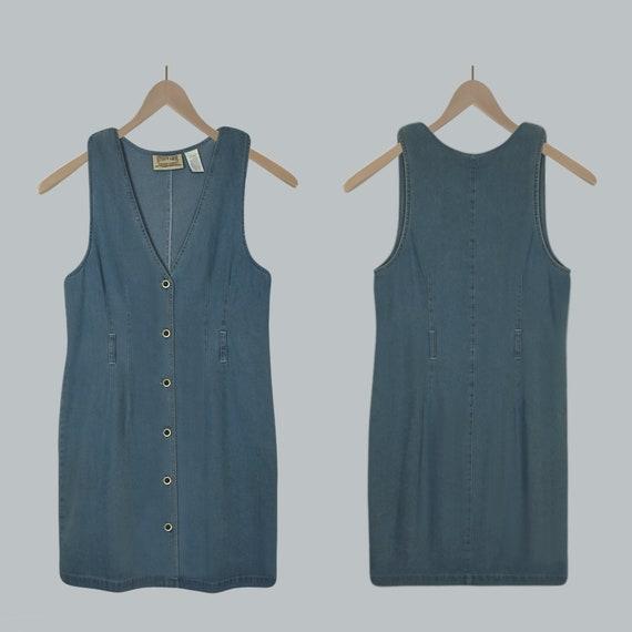 Women's Denim Dress- Jean Dress- Blue Jean Dress-