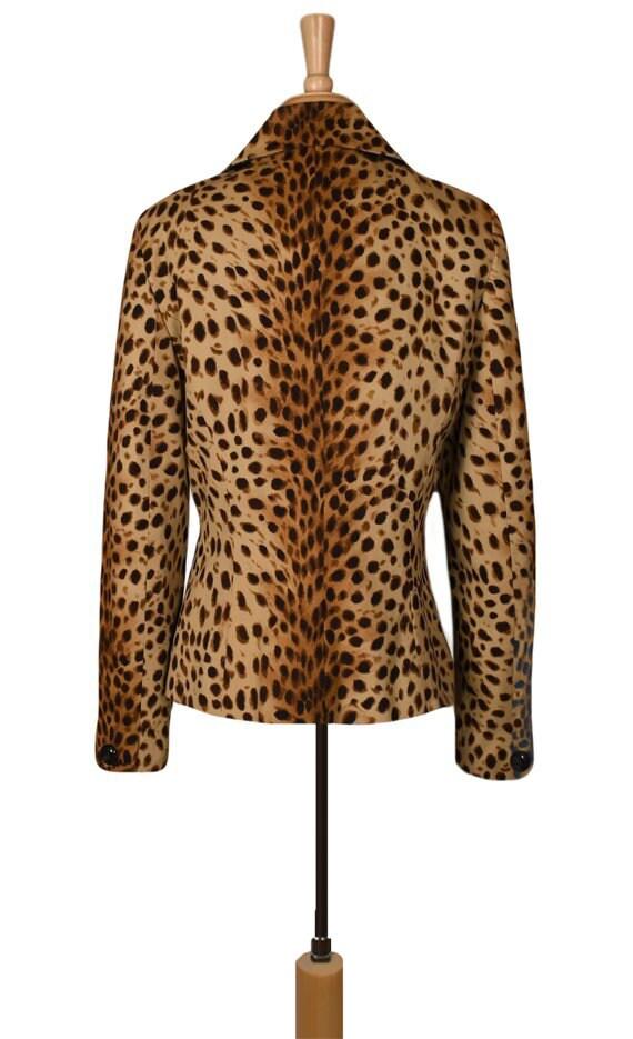 Leopard Jacket- Leopard Coat- Leopard Print Jacke… - image 9