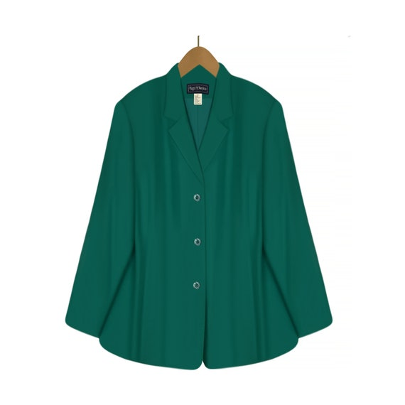 Womens Blazer- Linen Jacket- Linen Blazer- Linen C
