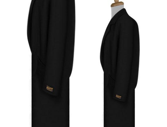 Vintage 70s Pendleton Coat- Womens Wool Coat- Bla… - image 6