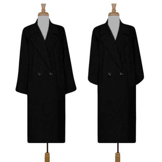 Women's Wool Coat- Winter Coat- Long Coat- Maxi Co