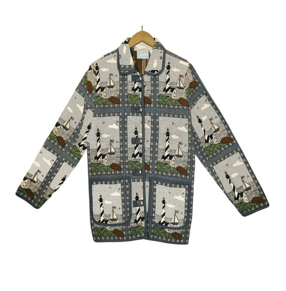 Vintage Tapestry Jacket- Women's Tapestry Jacket-