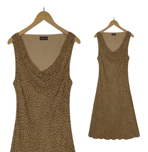 Leopard Dress- Leopard Print Dress- Animal Print D