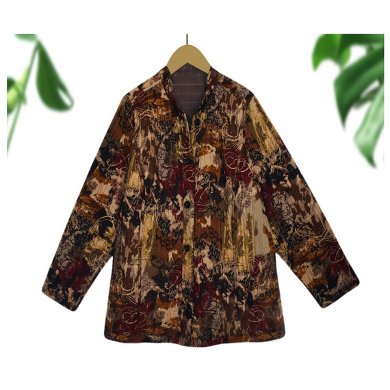 Quilted Jacket- Quilt Jacket Women- Quilt Coat- Wo