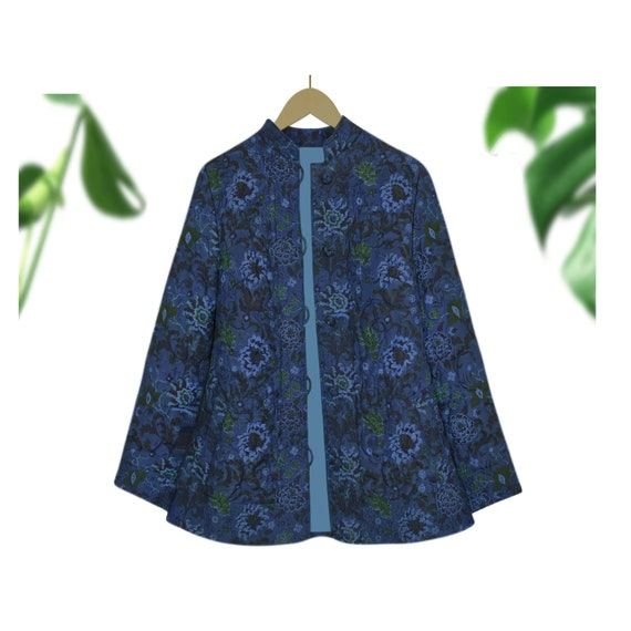 Quilted Jacket- Quilt Jacket Women- Quilt Coat- B… - image 1