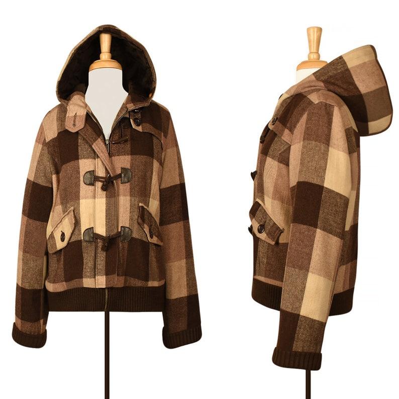 innovative design 4974c bb700 Womens Mantel-wolle Mantel wolle Jacke - Winter Mantel - Parka mit Kapuze  Mantel - Mantel - kurz Mantel - Dufflecoat-Knebel-Hoodie-Bolero-Plaid ...