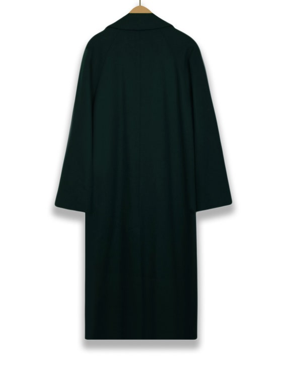 Wool Coat Women- Green Wool Coat- Womens Winter C… - image 3