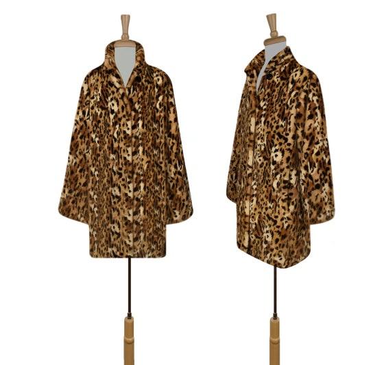 Women's Leopard Coat- Leopard Print Coat- Animal … - image 4