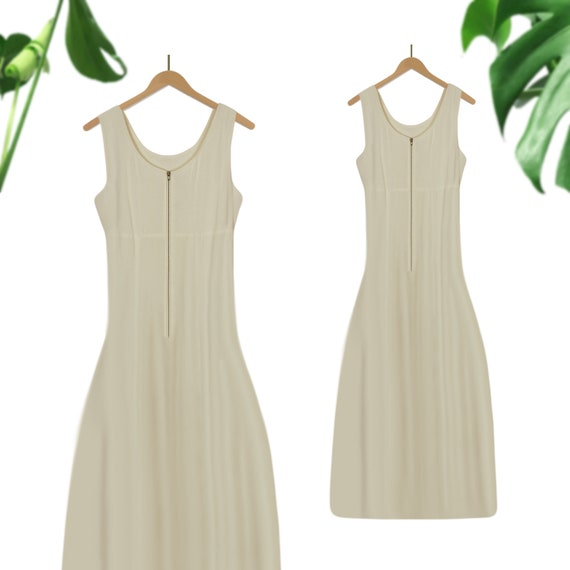 Summer Dress- Midi dress- Sleeveless Dress- Beach