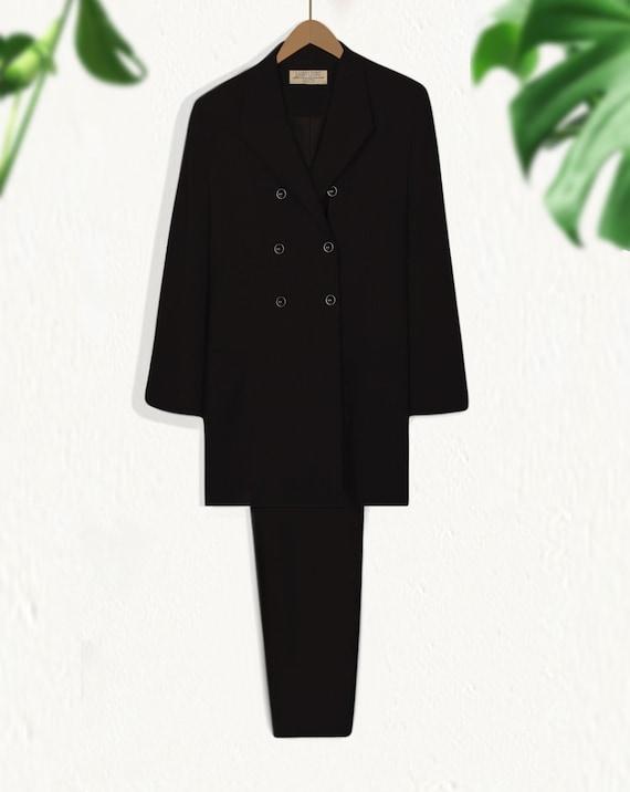 Women's Pant Suit- Black Suit Women- Business Sui… - image 6