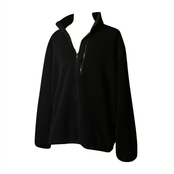 f7b421cf79779 Mens Jacket Fleece Jacket Black Jacket Winter Coat Fleece