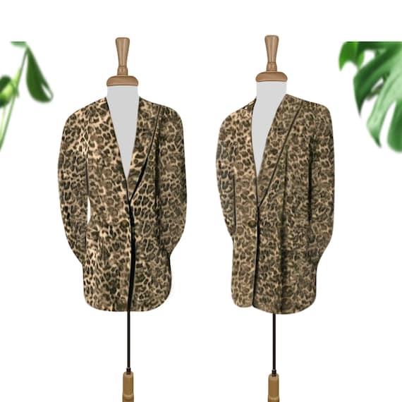 Leopard Coat- Leopard Print- Leopard Jacket- Leopa