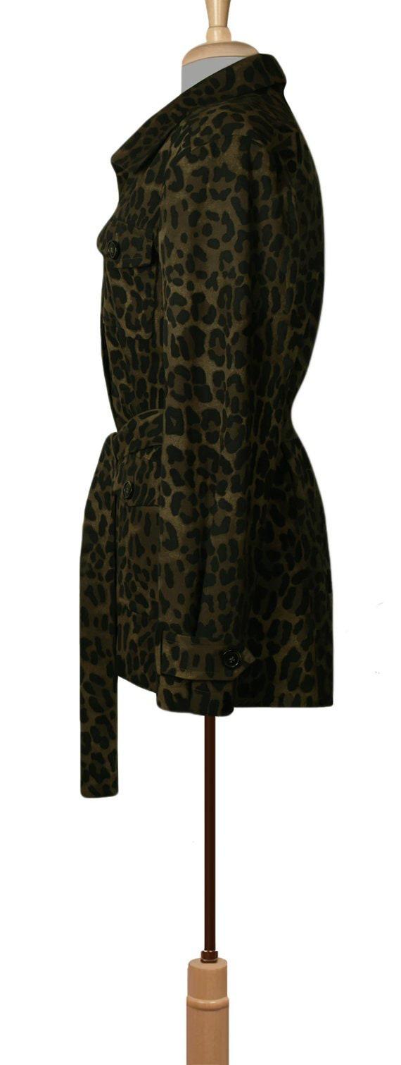 Women's Jacket- Leopard Jacket- Leopard Print Jac… - image 6