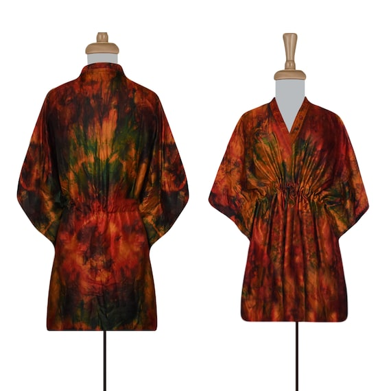 Women's Dress- Silk Dress- Boho Dress- Hippie Dres